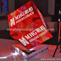 Newest Indoor & Outdoor Irregular shape led advertising display