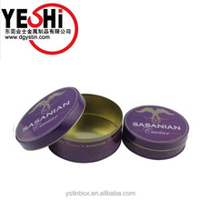 High quality airtight food grade metal caviar tin container