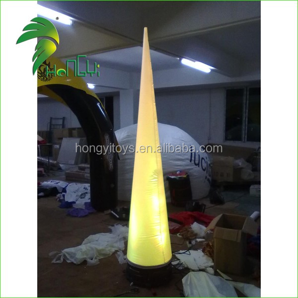 Inflatable Wedding LED Decoration Stage Pillar