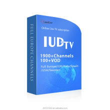 12 Months Iudtv IPTV Code Account Latest Arabic USA UK Italy Africa Europe Sports Live Channel Cinema Movies Android TV M3U List