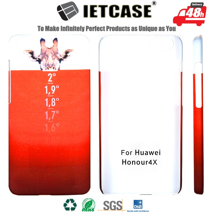 OEM Custom Design Mobile Phone Cell Accessory Back Cover Case for Huawei Honor 4x