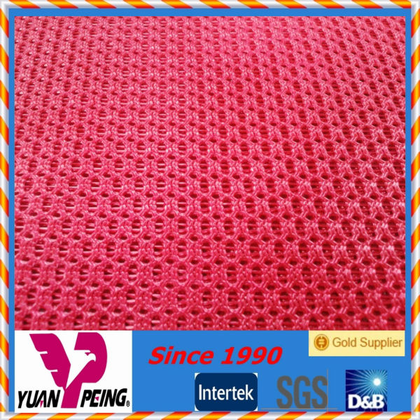 High Strength Polyester office chair mesh stiff mesh fabric