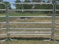 modern portable galvanized goat yard fence panels(china direct factory)