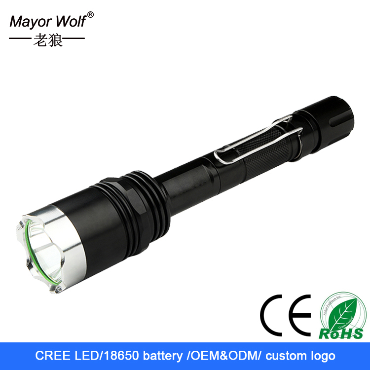 High Power 3000 lumen Cree XML L2 <strong>U2</strong> Waterproof Rechargeable Tactical LED <strong>Flashlight</strong>