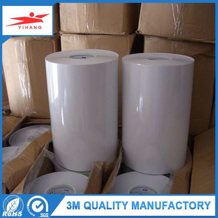 Alibaba Hot Fix Pet Film Adhesive Tape Roll