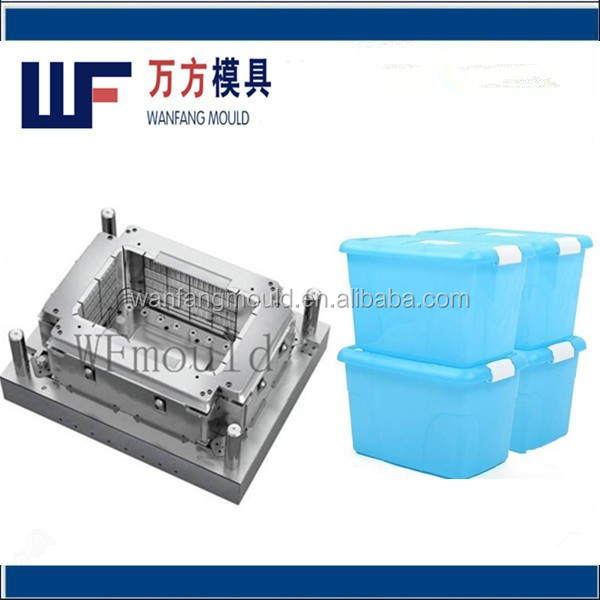 plastic household products plastic clothes storage container mould