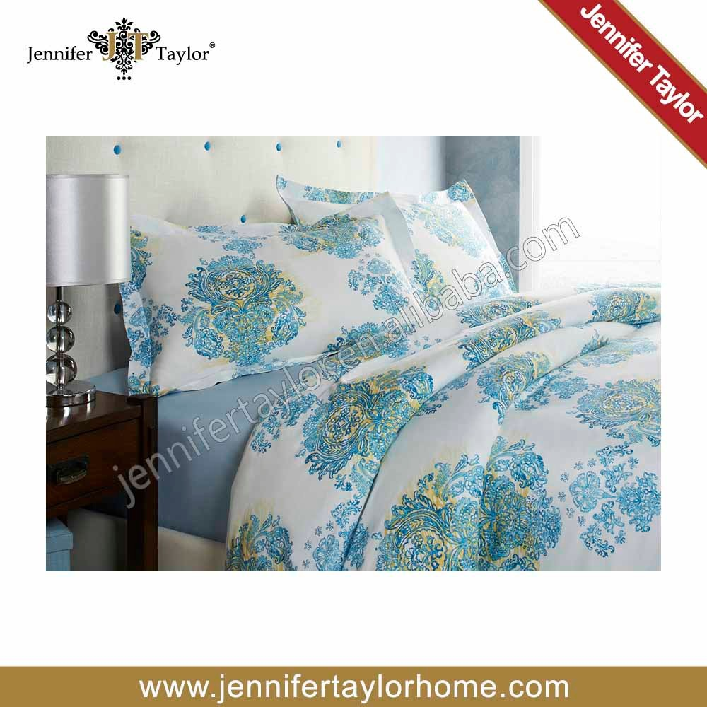 Factory direct price 100% cotton 4pcs bedding include bed sheet,duvet cover,pillow case