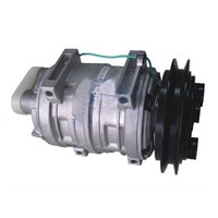 Bus air conditioning compressor Zexel DK21, 24V DC bus compressor