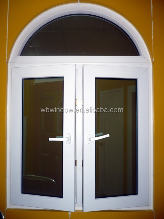 Arch window pvc casement window with arch buy arch for Arch window replacement