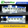 Fashion portable booth customized exhibition booth design China modular exhibition booth