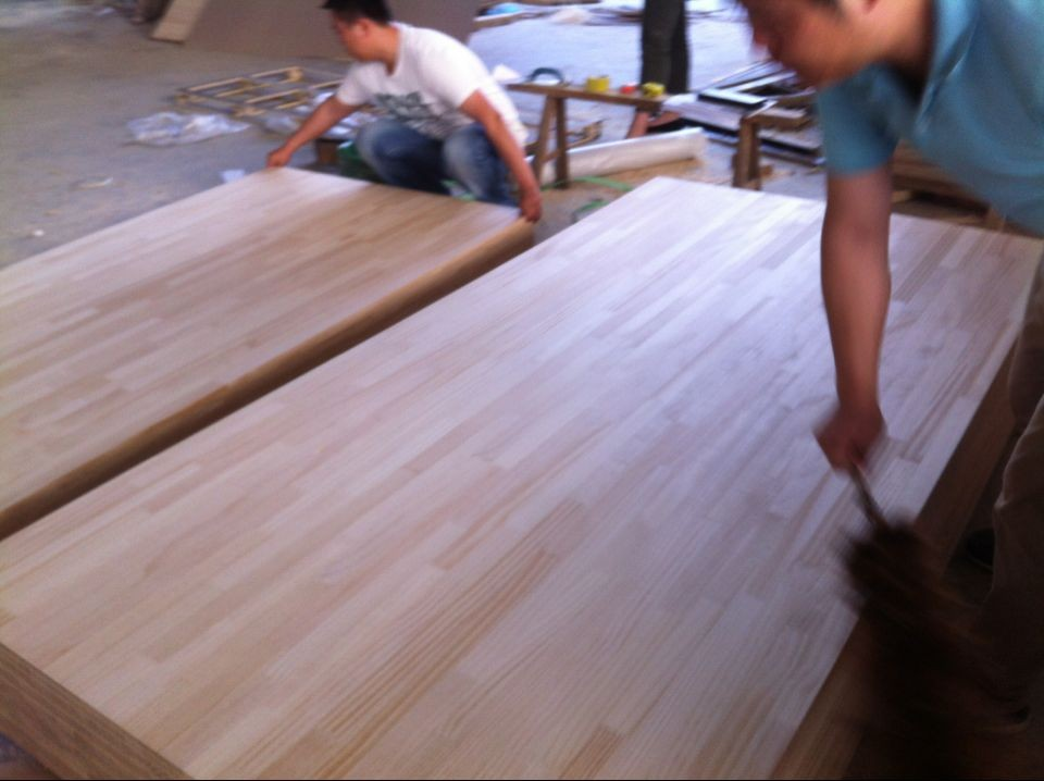 white pine finger jointed board