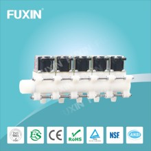 Water dispenser solenoid valve alarm check