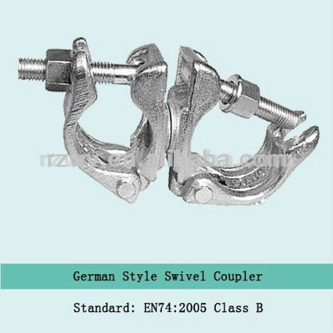 Scaffolding joint clamps German type Scaffolding Swivel Coupler/clamp