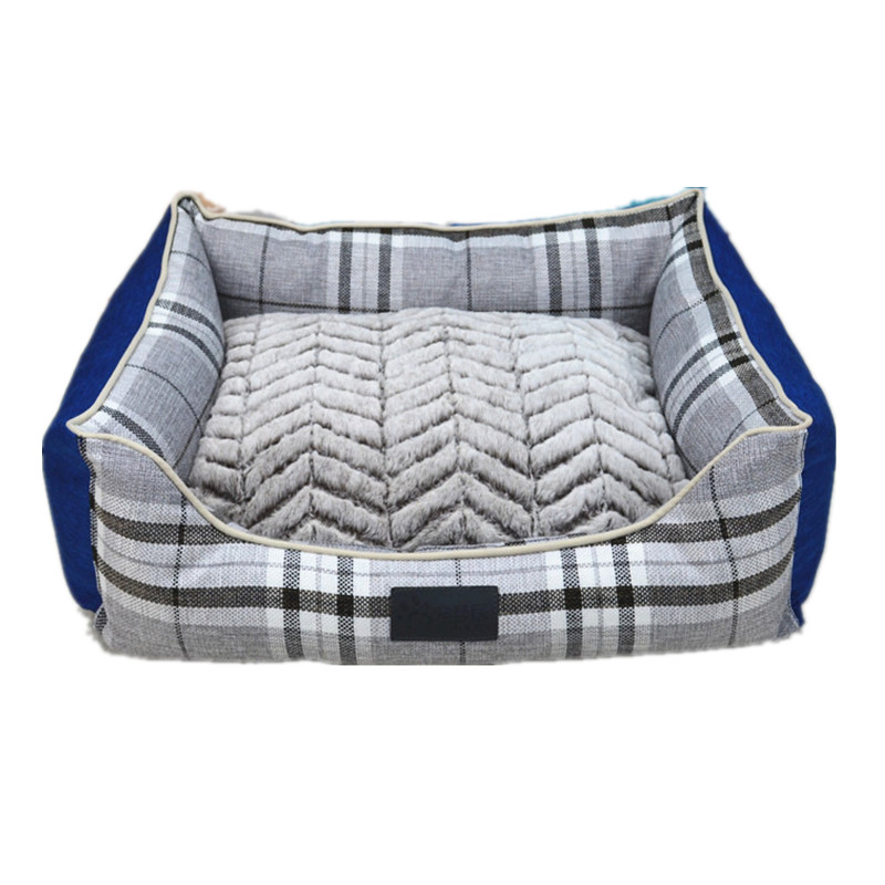 Soft square warm approved dog bed pet,pet bed luxury,luxury pet bed