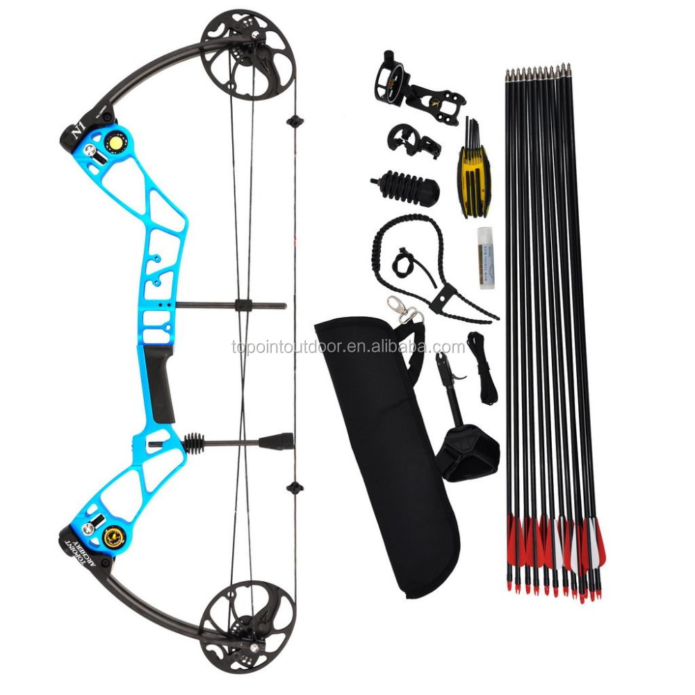 Topoint Archery Compound Bow N1,Beginner Package