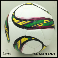 wholesale Size 5 tpu leather laminated soccer ball