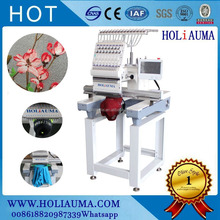HONG BRAND 1 head flat embroidery /quality computer embroidery machine price