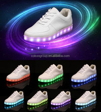 Night Reflec athletic Eco-friendly First-class quality Led Shoes Casual Women & Men Shoes Led Luminous USB Charging Lights shoes