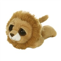 Rolling laughing stuffed animal plush toy lion