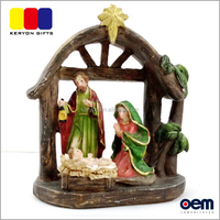 Christian Craft And Gift Nativity Statue Resin Religious Figurines