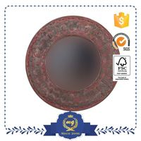 Top Selling Custom Printing Logo Antique Beveled Mirror Picture Frames