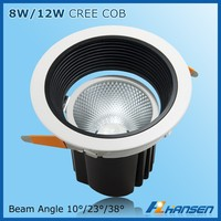 manufacturer 8w IP20 5inch led lighting fluorescent office ceiling light fixture