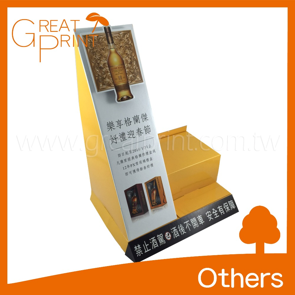 Taiwan Manufacturer Professional Cardboard Tabletop Display Stand
