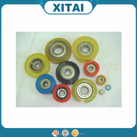 Factory Supplier OEM Service Shore 85A 90A 92A 95A 72D 75D PU and wheel hub strong adhesion Urethane covered bearings