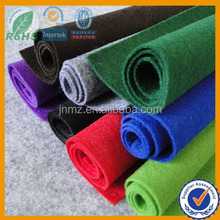 Colored polyester felt for craft