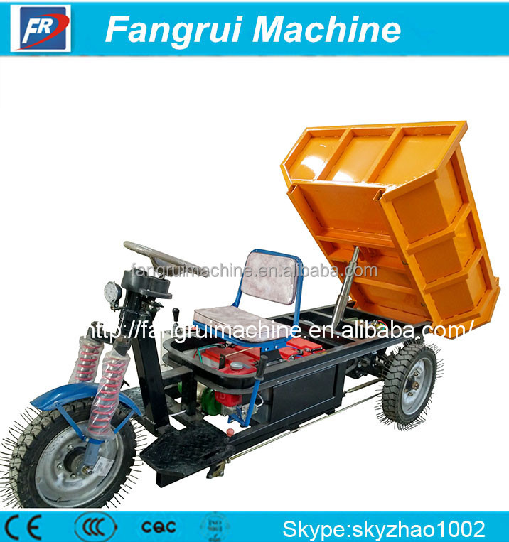 direct selling farmtrac Electric tricycle for kiln 185A, 48v