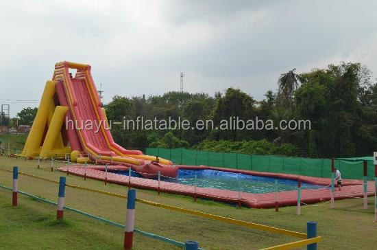 inflatable water huge slide for sale