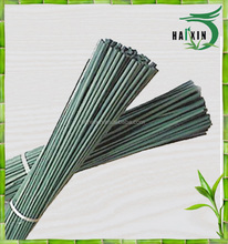 Manufacturers supply painting green bamboo flower sticks