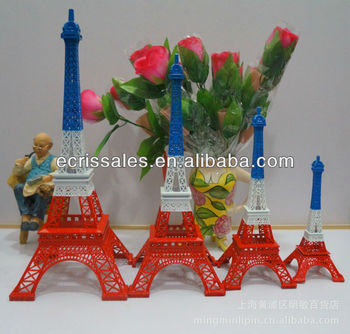 ali express France Pairs eiffel tower metal craft model