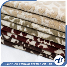Popular acrylic chenille jacquard fabric for home decorative
