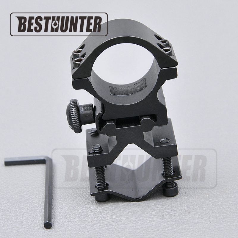 1Pair K185 Universal Barrel Ring Mount For Tactical 1 inch 25.4mm Rifle Scope Flashlight Laser Torch Shotgun Quick Release Ring