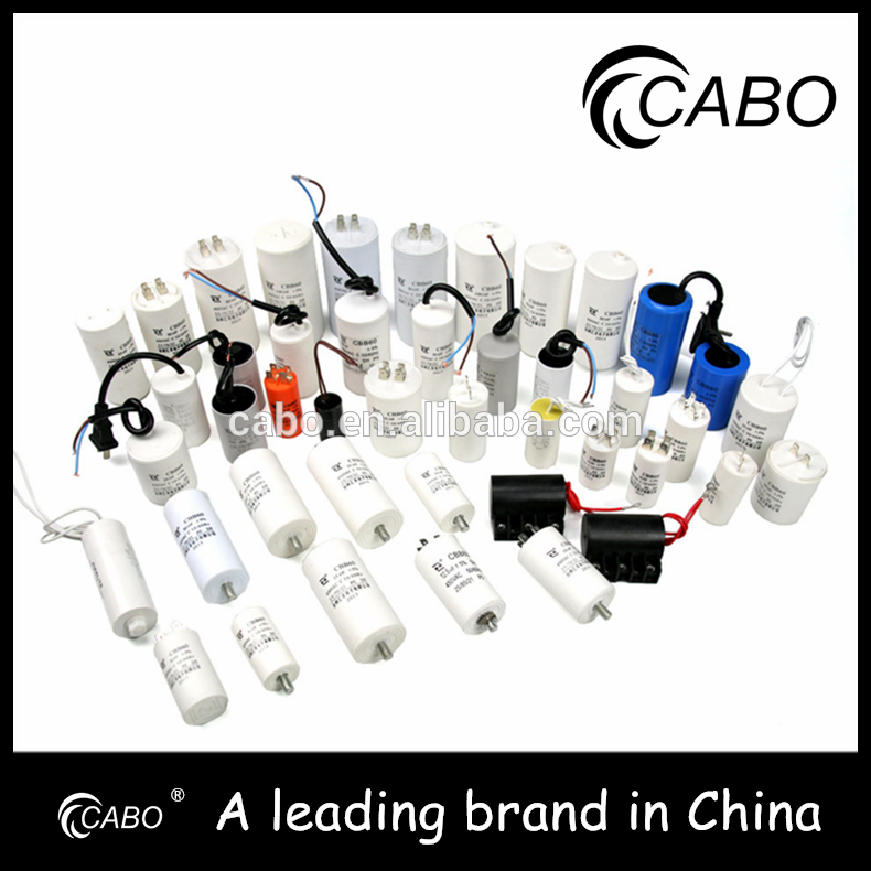 CBB60 series capacitor factory wholesale cbb60 sh 50/60hz with screw and nut