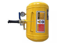 5gallon and 10gallon yellow and black color tire sealer and inflator