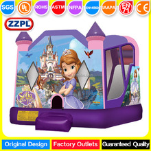 Outdoor Princess Sofia Inflatable Bouncy Castle for kids, Inflatable Jumping House for toddlers