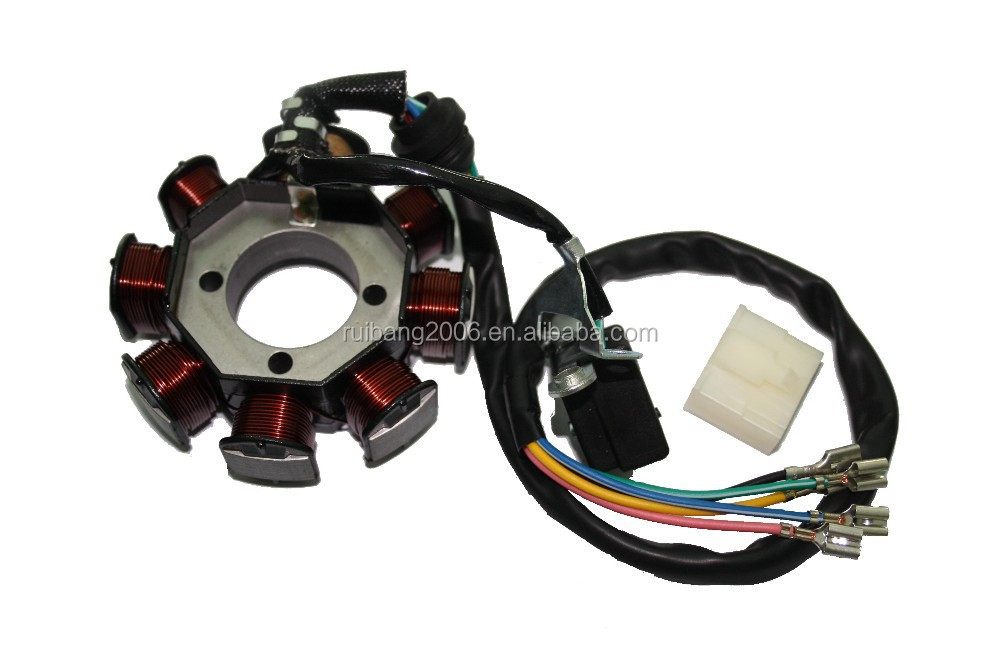 CG125 150cc Stator Magneto coil Motor ignition Generator quad bashan BS200S-7