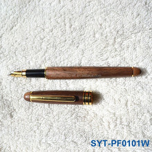 Customized quality wooden pen gift set