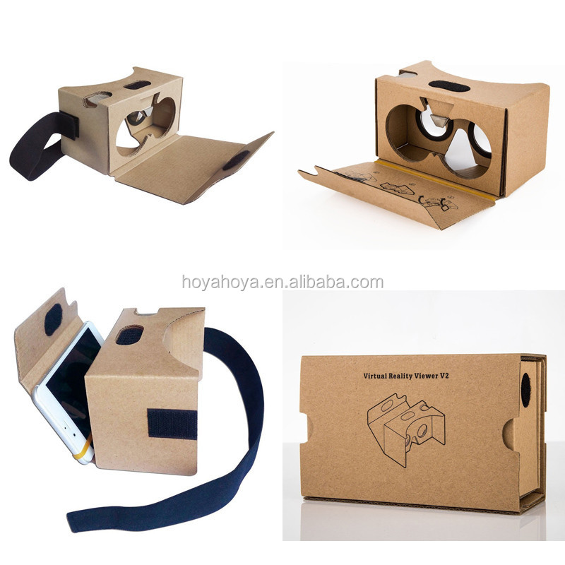 Cardboard v2.0 Virtual Reality Headset for iPhone Google