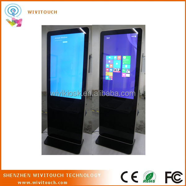 55inch high quality multimedia advertising player for hotel