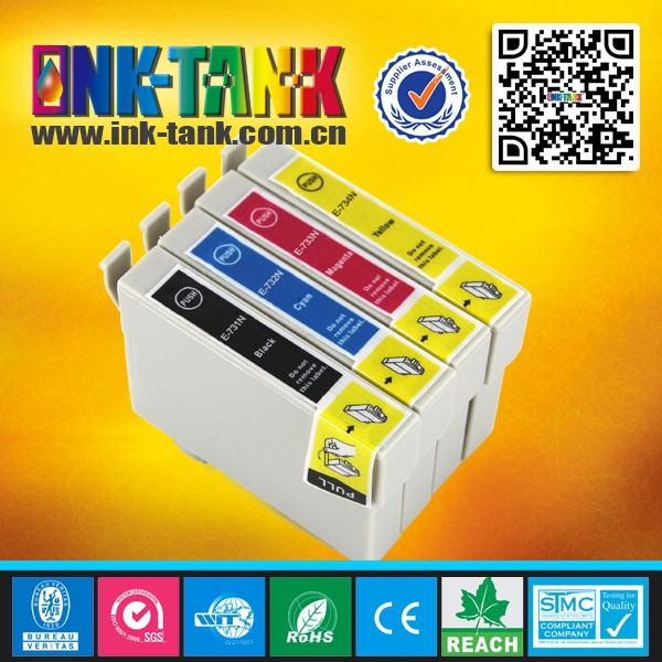 73N compatible ink cartridge for epson T13 printer