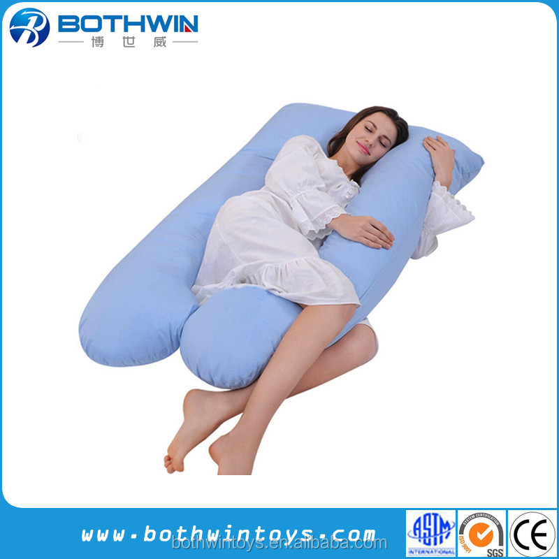 Body Support Comfort oversize u shaped pregnancy pillow