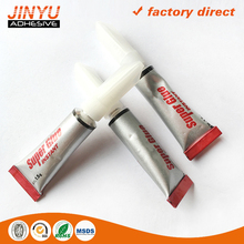 Instant liquid cyanoacrylate adhesive for glass