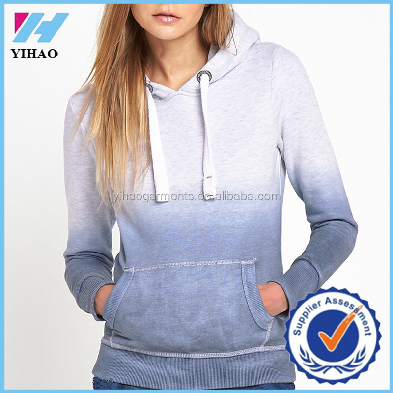 Latest casual wear fashion for women tie dye hoodies