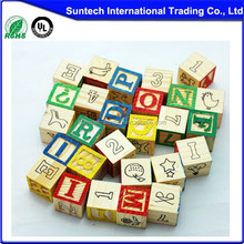 wooden alphabet blocks,Factory Direct,Verification of EN-71