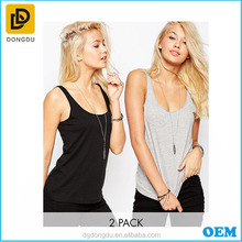 Latest Promotional Attractive Stringer Tank Tops for girls
