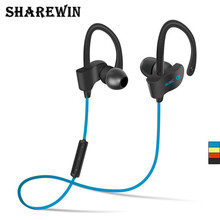 SHAREWIN 56S Bluetooth Headset For Cell Phones Wireless Sport Bluetooth Fixed Waterproof