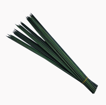 Round Orchid flower bamboo sticks